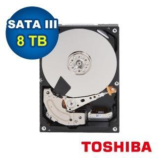 【TOSHIBA 東芝】2入組 8TB 3.5吋 7200轉 監控硬碟(MD06ACA800V)