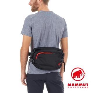【Mammut 長毛象】Waistpack Hike 8L 健行腰包 黑色 #2520-00520(健行腰包)