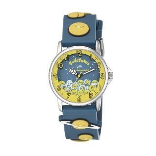 【HELLO KITTY】蛋黃哥 五週年紀念手錶(藍 KT070LWYN)
