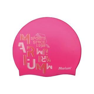 【MARIUM】矽膠泳帽-繽紛字母(MAR-8628)