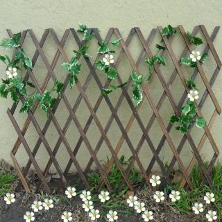 【園藝世界】燻木伸縮籬笆支撐架2.5尺