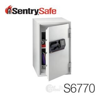 【Sentry Safe】美國金庫 電子式商務防火金庫(中)S6770(凱騰經銷)