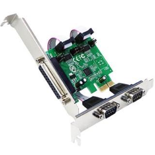 【伽利略】PCI-E 2埠 RS232 + 1埠 Print 擴充卡(PETRP02A)