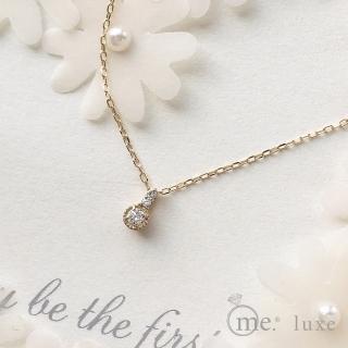 【me.luxe】K10黃K4分鑽鍊