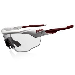 【ADHOC】MAX極速變色運動太陽眼鏡(霧白色系)