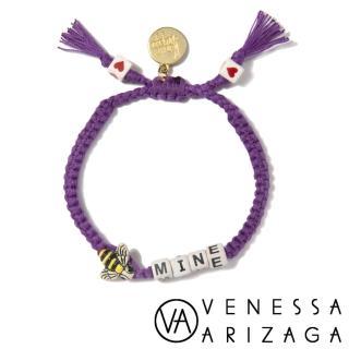 【Venessa Arizaga】BEE MINE 紫色手鍊(手鍊)