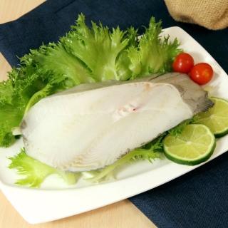 【鮮食家】任選799 簡單生鮮 大比目魚-扁鱈切片(200g±10%/包)