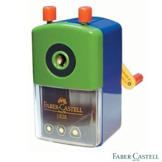【Faber-Castell】紅色系 大小通用 削筆機(顏色隨機出)