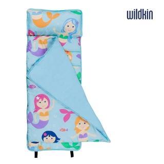【美國Wildkin】無毒幼教睡袋/午覺毯/兒童睡袋(49694 小美人魚)