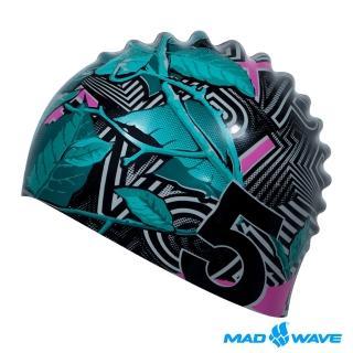 【MADWAVE】矽膠泳帽 NATURE(優質矽膠 舒適防水 男女適用)