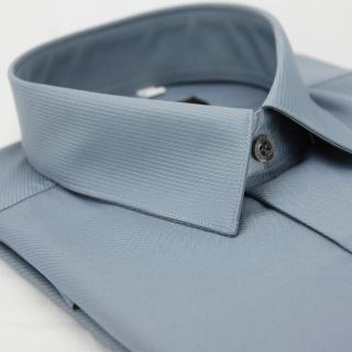 【金安德森】灰色斜紋吸排長袖襯衫-fast