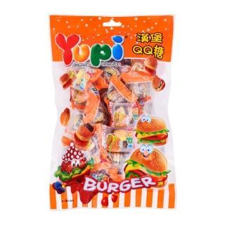 【YUPI】呦皮漢堡QQ軟糖(270G)