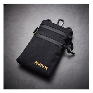【RIMIX】防潑水尼龍腰包 Molle系統手機包(2色可選)