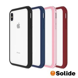 【SOLiDE】維納斯  iPhone X/XS 標準版軍規防摔殼手機殼