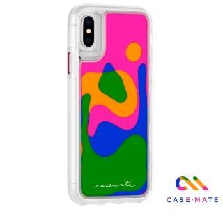 【美國 Case-Mate】iPhone iPhone XS / X Lava Lamp(熔岩瀑布雙層防摔手機保護殼)