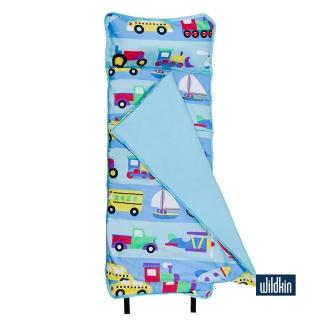 【美國Wildkin】無毒幼教睡袋/午覺毯/兒童睡袋(49690 交通工具大集合)