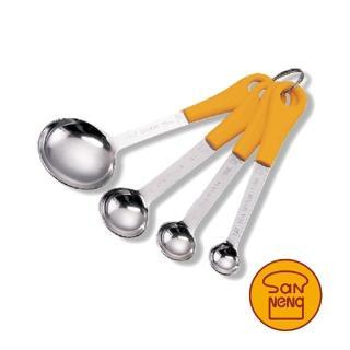 【SANNENG 三能】不銹鋼匙-4個組(量匙)