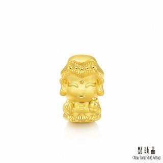 【點睛品】Charme 文化祝福 微笑觀音 黃金串珠