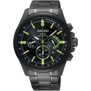 【SEIKO 精工】Criteria 年度限定太陽能計時碼錶-42mm(V175-0ES0SD  SSC689P1)