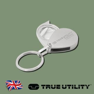 【TRUE UTILITY】英國多功能隨身放大鏡鑰匙圈EyeGlass(放大鏡鑰匙圈)