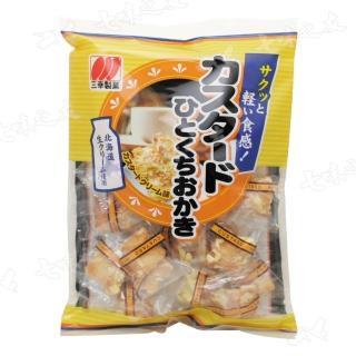【三幸製果】卡士達一口米果100g