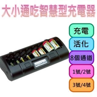 【MAHA-POWEREX】八通道大小通吃充電器(MH-C808M)