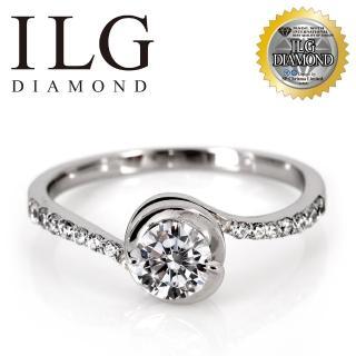 【美國ILG鑽飾】八心八箭戒指 - 性感尤物款 RI168 主鑽約50分 閃耀指尖魅力 媲美真鑽亮度(戒指)