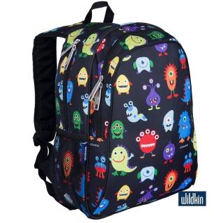 【美國Wildkin】兒童後背包/雙層式便利書包(67600 怪獸好朋友)