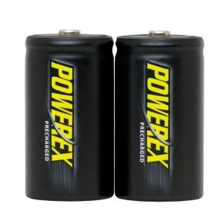 【MAHA-POWEREX】1 號低自放鎳氫充電池(MHRDP2-10000)