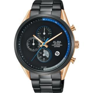 【ALBA】Tokyo Design 情人限定原創計時手錶-44mm(VD57-X135KS AM3594X1)