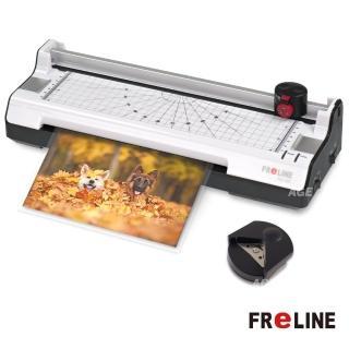 【FReLINE】六合一裁切護貝機(FM-380)+A4護貝膠膜(200pcs)