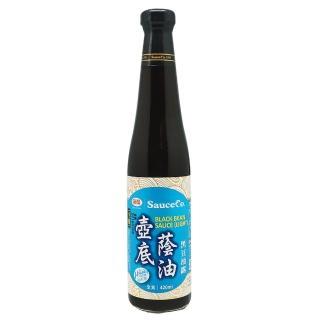 【味榮】佳釀黑豆壺底蔭油露(420ml)