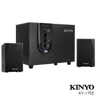 【KINYO】2.1聲道多功能藍牙喇叭(KY1755)