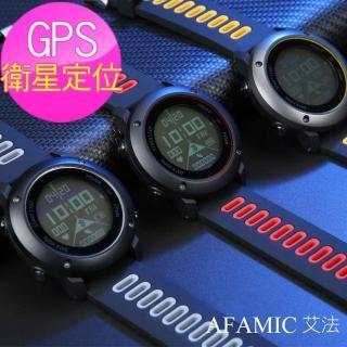 【AFAMIC 艾法】UW90S內鍵GPS經典限量專業極限運動手環 運動手錶 防盜智慧手錶(11種運動模式 可更換表帶)