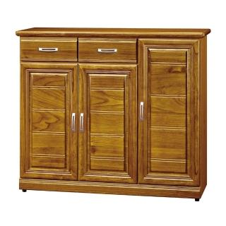【H&D】樟木色4尺鞋櫃(樟木色 4尺 鞋櫃)