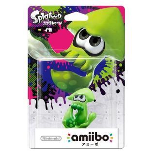 【Nintendo 任天堂】amiibo公仔 烏賊(漆彈大作戰系列)