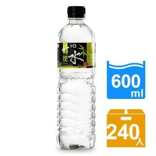 【3Q】竹碳水600mlx10箱(240入)