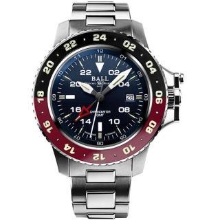 【BALL 波爾】Engineer Hydrocarbon AeroGMT II腕錶(DG2018C-S3C-BK)