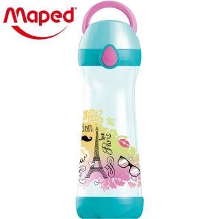 【法國Maped】無吸管兒童概念水瓶580ml-氣質巴黎