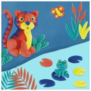 【PLAYDOH 培樂多】補充罐系列(無毒 四色組經典款4 OZ-A款 B5517)