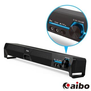 【aibo】LA101 USB家庭劇院 單件式雙聲道立體聲喇叭