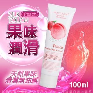 SILK TOUCH Peach 蜜桃口味口交、肛交、陰交潤滑液 100ml