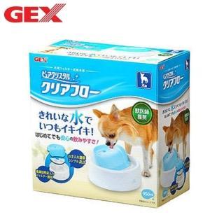 【GEX】愛犬 圓滿平安飲水器《粉紅/白/藍白》950ml