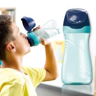 【法國Maped】無吸管兒童直飲水瓶430ml-聰明藍