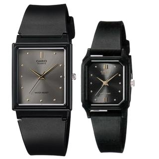 【CASIO 卡西歐】簡約時尚男女對錶(MQ-38-8A+LQ-142E-1A)