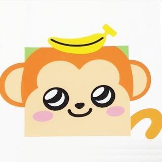 【LOVIN超萌韓版數字油畫】可愛動物系列-M1香蕉猴(1幅)