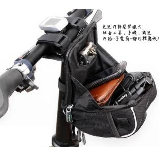 【May shop】B-soul自行車首包 上管包 帶防雨罩 車把包(上管包)