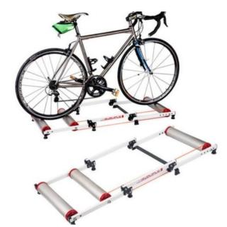 鋁合金靜音滾筒式磁阻 自行車室內訓練可伸縮(滾筒練習台)