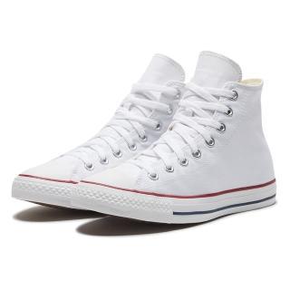 【CONVERSE】ALL STAR HI 白 高筒 男女 休閒鞋(M7650C)