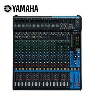 【YAMAHA 山葉】MG20XU 混音器(原廠公司貨 商品保固有保障)